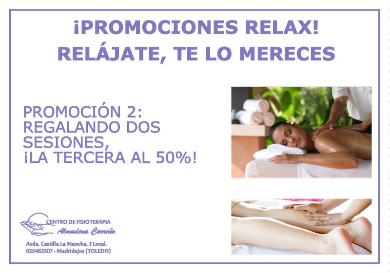 Promo Relax | Fisioterapia Almudena Carreño